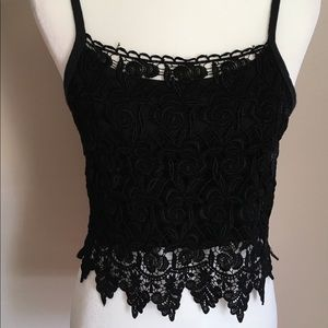 Handmade top black